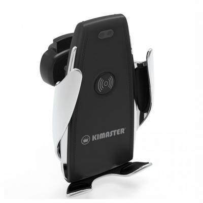 allury-gifts - Suporte veicular automático com carregamento Turbo wireless por indução 1