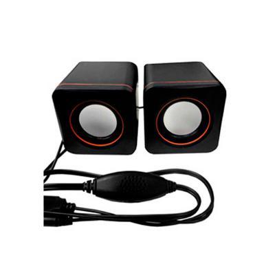 Allury Brindes - Caixa de som USB preta 1