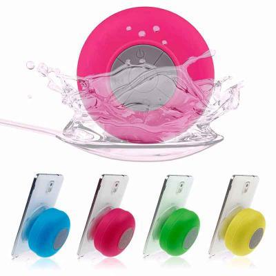 Promus Brindes - Caixinha de som portatil bluetooth a prova de água para hora do banho e hora do lazer
