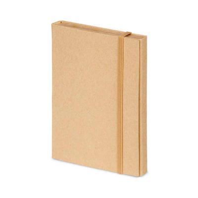 Promus Brindes - Kit para escritório em Cartão. Com caderno (80 folhas pautadas em papel reciclado), 6 blocos adesivados (25 folhas cada), 1 régua de 12 cm, 1 esferogr...