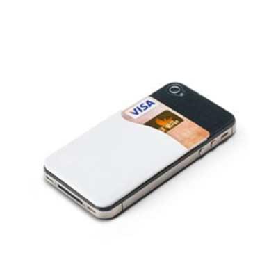 promus-brindes - Porta cartões para smartphone PVC autocolante