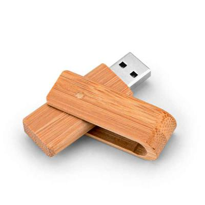 Promus Brindes - Pen Drive Bambu Capacidade 16GB