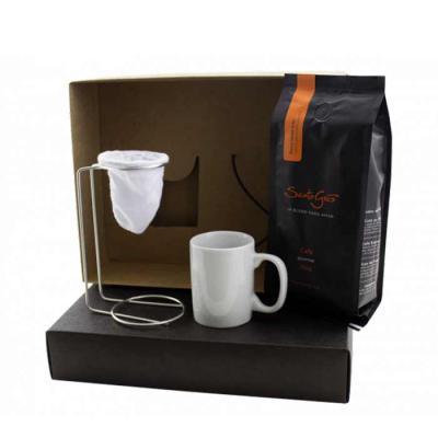 Promus Brindes - Kit café personalizado em caixa de papelão