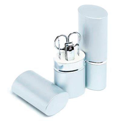 Promus Brindes - Kit manicure em alumínio