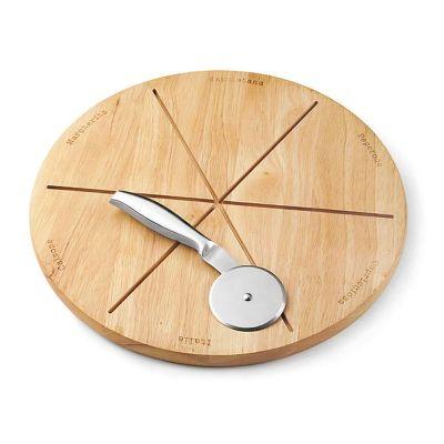 promus-brindes - Kit pizza em madeira