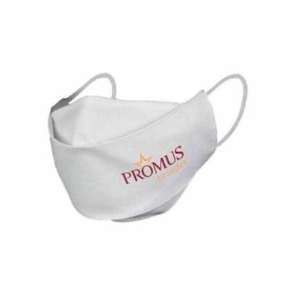 Promus Brindes - Máscara de proteção 3D Dupla Camada em tricoline Descrição: Tamanho: Único Material: Tecido tricoline Cor: Branca Se cuide!  O que fazer: Utilize Másc...