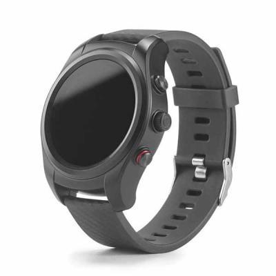Promus Brindes - Um relógio inteligente moderno e sofisticado com detalhes que lhe atribuem um design intemporal e simultaneamente inovador. O GPS integrado e a sua re...