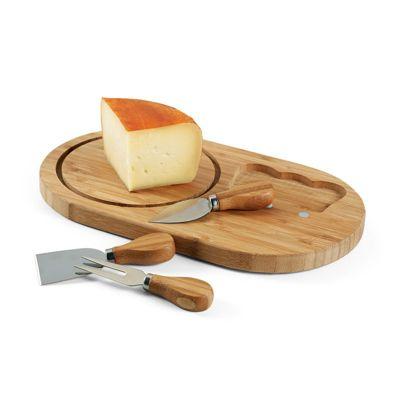 promus-brindes - Tábua de queijos. Bambu
