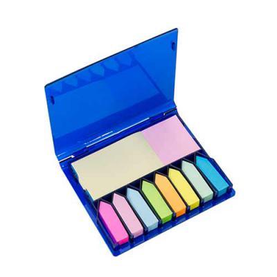 qualy-brindes - Bloco de anotações com sticky-notes gr xcolor.