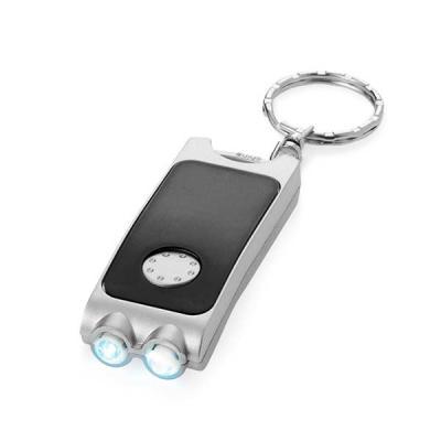 Brindes Qualy - Chaveiro. PP. Com 2 LEDs. Incluso pilhas. 25 x 65 x 11 mm