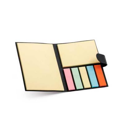 Brindes Qualy - Caderno. Cartão. 7 blocos adesivados: 25 folhas cada. 80 x 105 x 9 mm