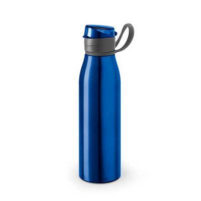 Brindes Qualy - Squeeze. Alumínio e AS. Capacidade até 650 ml. Food grade. Caixa branca 94657 vendida opcionalmente. ø66 x 250 mm