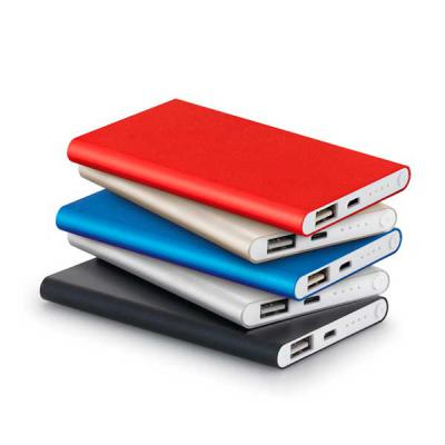 Qualy Brindes - PowerBank - Bateria portátil slim