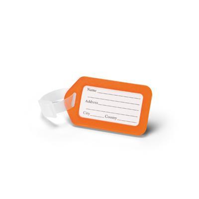 Brindes Qualy - Identificador de bagagem. PP. Ideal para malas de viagem. 87 x 50 x 4 mm