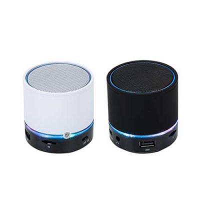 Brindes Qualy - Mini caixa de som bluetooth, recarregável, entrada USB, suporta celulares, laptops, tablets, pen drives, mini e micro card. Ideal para ouvir suas músi...