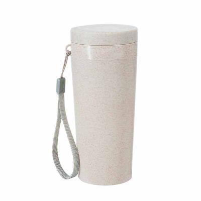 Brindes Qualy - Copo Térmico Fibra de Bambu de 350ml