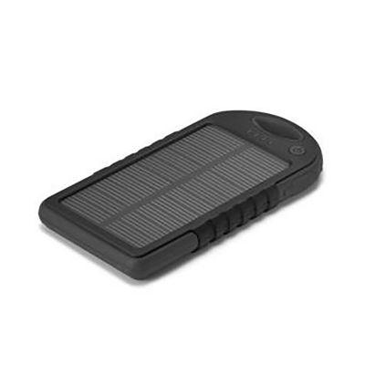 Brindes Qualy - Bateria portátil solar.