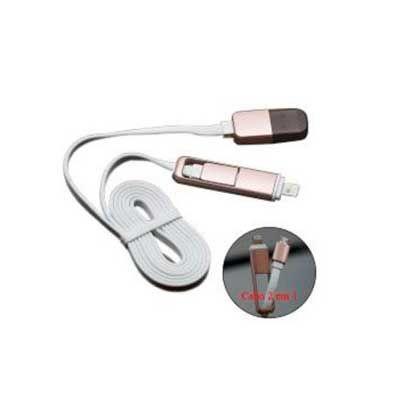 Qualy Brindes - Cabo USB promocional.