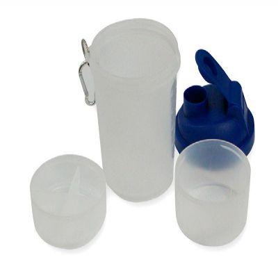 Qualy Brindes - Coqueteleira de plástico resistente para academia
