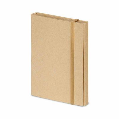Brindes Qualy - Kit para escritório. Cartão. Com caderno (80 folhas pautadas em papel reciclado), 6 blocos adesivados (25 folhas cada), 1 régua de 12 cm, 1 esferográf...