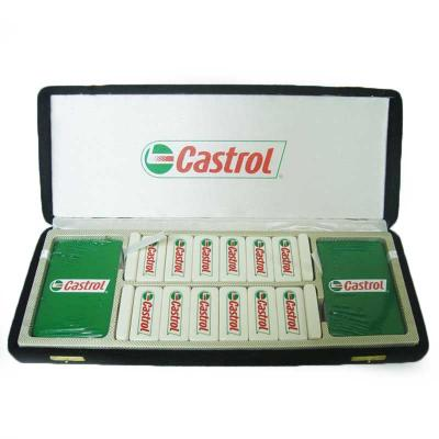 Qualy Brindes - Jogo de baralho duplo, dominó e caixa de madeira personalizada. Sua marca presente em cada jogada do seu cliente!