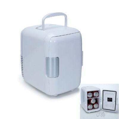 Brindes Qualy - Mini geladeira para até 5 latas de 330 ml.