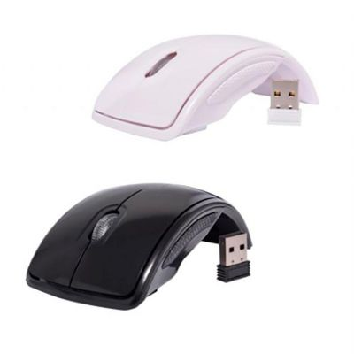 Qualy Brindes - Mouse wireless dobrável