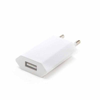 Fantastic Brindes - Carregador USB  Medidas: 5cm x 3,5cm x 1,5cm Peso: 17 g Cores: Branco