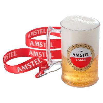 Fantastic Brindes - Caneca de chopp com cordão personalizada