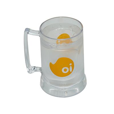 Fantastic Brindes - Caneca de chopp com gel em p.s. cristal personalizada