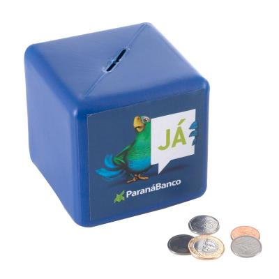 Fantastic Brindes - Cofre cubo   Material: Pl�stico PE. Medidas: 10,8 cm de altura, 10,8 cm de largura e 10,8 cm de profundidade Peso: 57 gramas. Op��o para personaliza��...