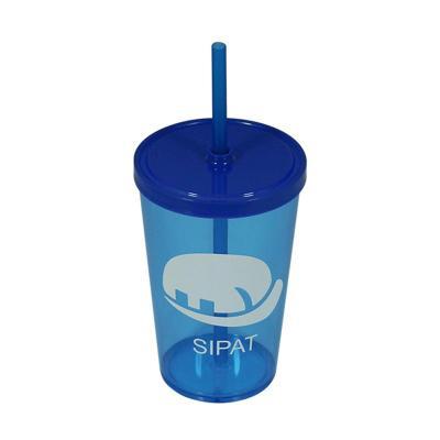Fantastic Brindes - Material: Plástico PS cristal. Capacidade: 550 ml. Medidas: 9,2 cm de diâmetro (boca), 6,2 cm de diâmetro (base) e 22 cm de altura. Peso: 75 gramas. E...