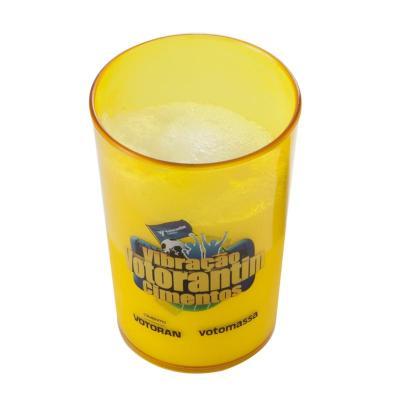 Fantastic Brindes - Copo plástico cristal 350 ml