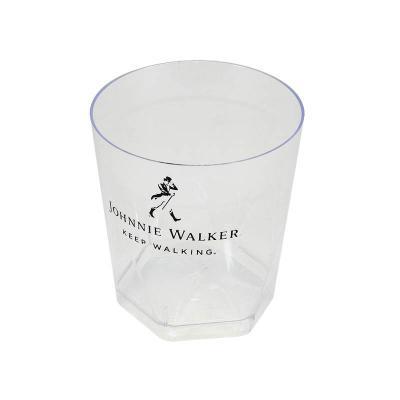 Fantastic Brindes - Copo plástico cristal personalizado Capacidade: 280ml Medidas: 90mm x 82mm Cor: transparente