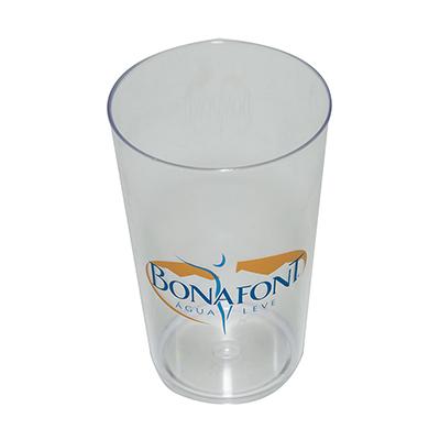 Copo 550 personalizado Material: Plástico PS cristal. Capacidade: 550 ml....