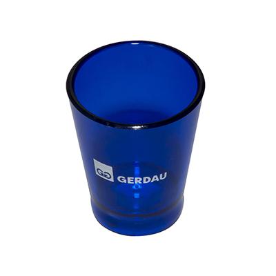 Fantastic Brindes - Copo dose personalizado Material: Plástico PS cristal. Capacidade: 60 ml. Medidas: 5 cm de diâmetro (boca), 3,5 cm de diâmetro (base) e 6,1 cm de altu...