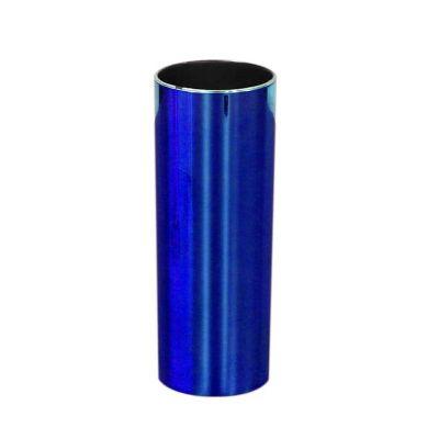 Fantastic Brindes - Copo long drink metalizado azul personalizado