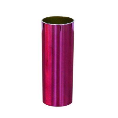 Fantastic Brindes - Copo long drink metalizado rosa personalizado