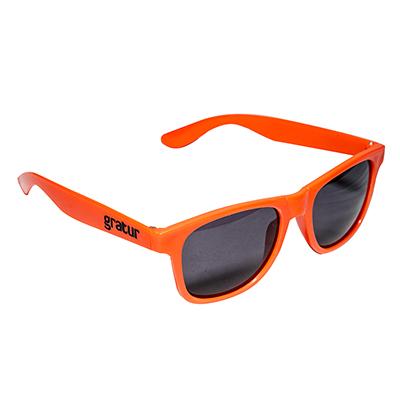 Fantastic Brindes - Óculos de plástico promocional personalizado. Tem como medidas 14 x 14,5 cm e pesa 21 gramas.