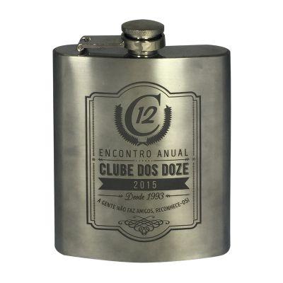 Fantastic Brindes - Cantil de whisky personalizado