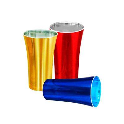 Fantastic Brindes - Fabricado em material PS Cristal. Capacidade 400 ml. Embalagem: Saco plástico individual. Dimensão: 14,2 cm de altura por 8,5 cm de largura. Peso: 48...