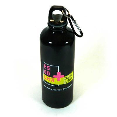 Fantastic Brindes - Squeeze com mosquetão personalizado