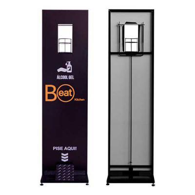 Fantastic Brindes - Totem para Álcool em Gel personalizado