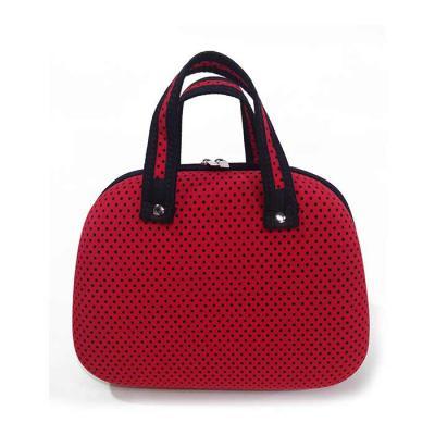 AMS Confecções - Bolsa moldada com bolso interno, aceita gravação em relevo, silk ou bordado.