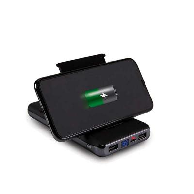 Toca dos Brindes - Powerbank de indução com visor digital