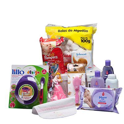Donare Presentes - Cesta maternidade especial menina