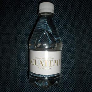 by-luciana-godoy - Garrafa de agua mineral personalizada