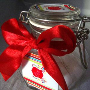 By Luciana Godoy - Personalizados Especiais - Mini baleiro sextavado.