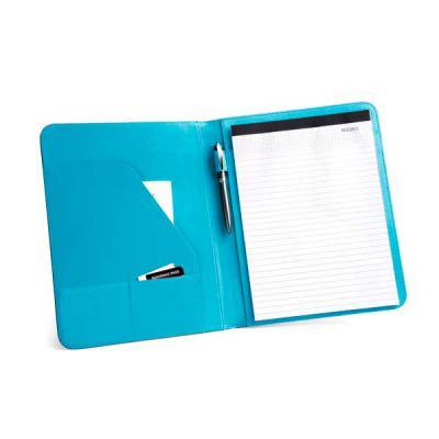 Store Gift - Pasta executiva A4 couro sintético e poliéster 800D poliéster. Interior em microfibra, incluso bloco de anotações com 20 folhas pautadas. Caneta não i...