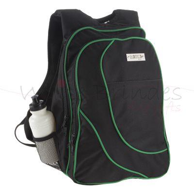 Store Gift - Mochila em poliester 2 divisões com bolso frontal.